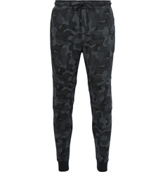 Nike Tapered Camouflage-Print Cotton-Blend Tech Fleece Sweatpants