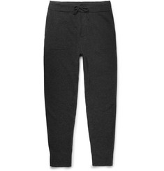 Ralph Lauren Purple Label Slim-Fit Tapered Mélange Cashmere-Blend Sweatpants