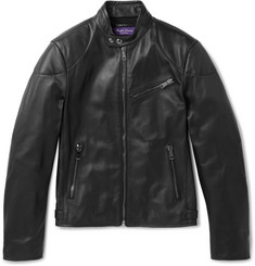Ralph Lauren Purple Label - Randall Leather Biker Jacket