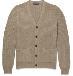 Ralph Lauren Purple Label Knitted Cashmere Cardigan