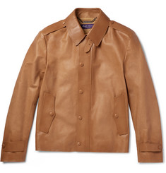 Ralph Lauren Purple Label Woodhull Leather Jacket