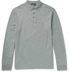 Ralph Lauren Purple Label - Cotton-Piqué Polo Shirt