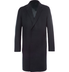 Solid Homme Wool-Blend Overcoat