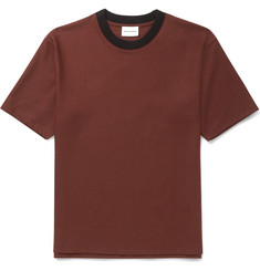 Solid Homme Brushed Wool-Blend T-Shirt