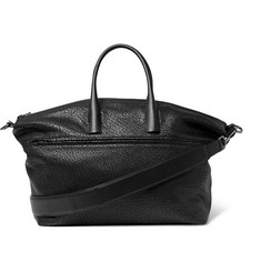 Solid Homme - Grained-Leather Tote Bag
