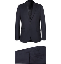 Paul Smith - Navy A Suit To Travel In Soho Slim-Fit Wool Suit