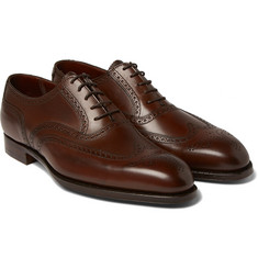 George Cleverley - Reuben Burnished-Leather Wingtip Brogues