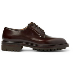 George Cleverley Archie Polished-Leather Derby Shoes