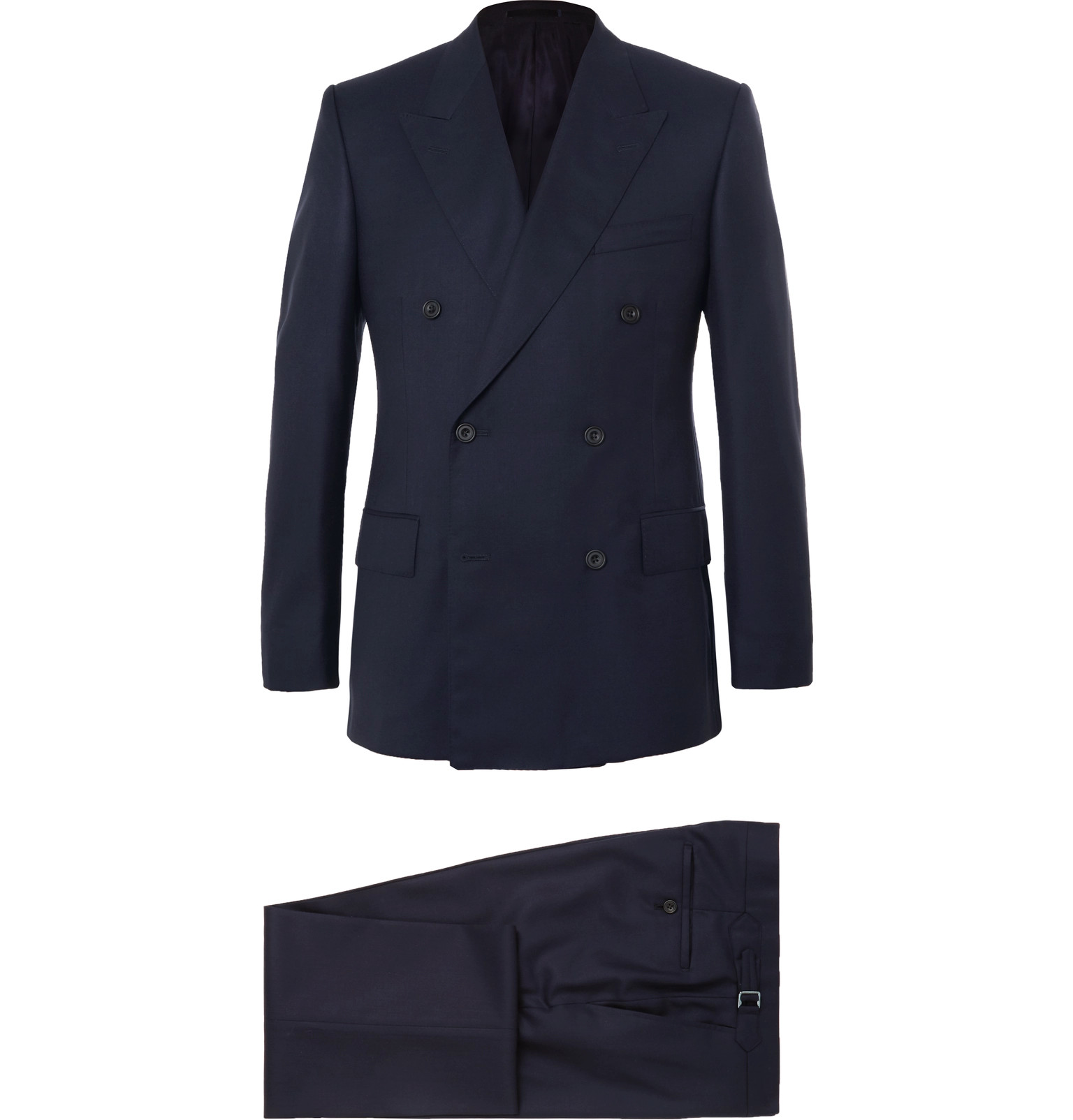 ae9fd866474 Kingsman - Harry s Navy Super 120s Wool and Cashmere-Blend Suit
