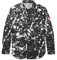 Cav Empt Printed Cotton-Poplin Shirt