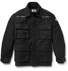 Cav Empt Convertible Cotton and Quilted Shell Field Jacket