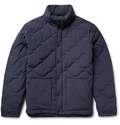 Saturdays NYC - Tyson Quilted Cotton-Blend Hooded Down Jacket