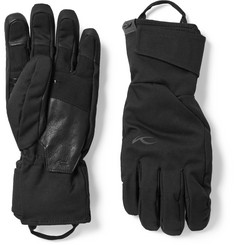 Kjus - Formula Leather-Trimmed Shell Ski Gloves