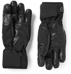 Kjus - BT 2.0 Bluetooth Leather-Trimmed Twill Ski Gloves