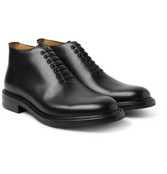 O'Keeffe - Scout Pebble-Grain Leather Boots