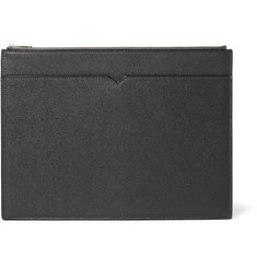 Valextra Grained-Leather Document Holder