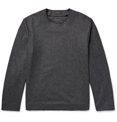 COS Mélange Wool-Blend Shirt