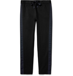 COS - Mr Tiberius Grosgrain-Trimmed Stretch-Jersey Trousers