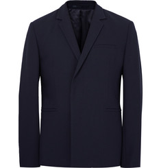 COS Blue Slim-Fit Wool Blazer