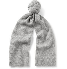 COS Mr Osseo Textured Alpaca-Blend Scarf