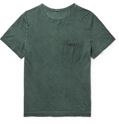 Massimo Alba Panarea Slim-Fit Garment-Dyed Cotton-Jersey T-Shirt