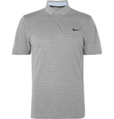 Nike Golf Slim-Fit Printed Dri-FIT Piqué Polo Shirt