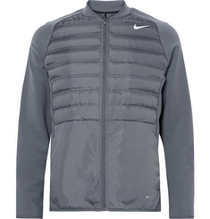 Nike Golf Aeroloft Hyperadapt Tech-Jersey and Quilted Shell Jacket