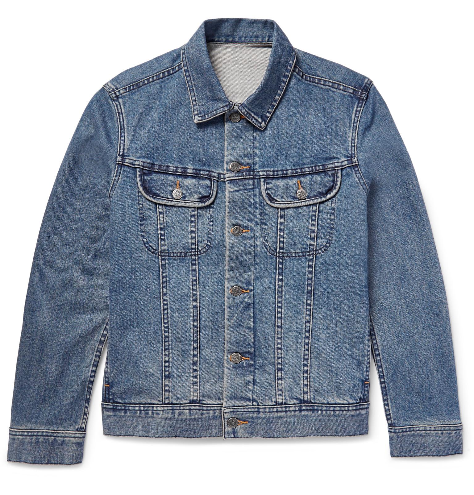 1bd40d2b362 A.P.C. - Denim Jacket