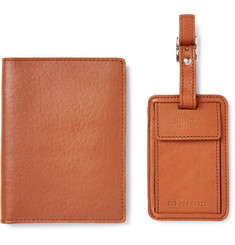 Shinola - Leather Passport Cover and Luggage Tag