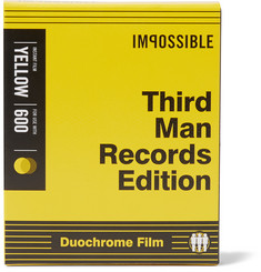 impossible Project + Third Man Records Black & Yellow Polaroid® 600 Film