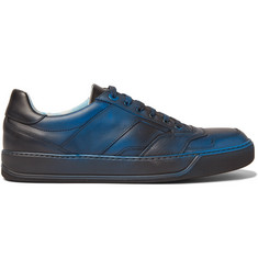 Lanvin Spray-Painted Leather Sneakers