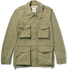 Remi Relief - Washed Cotton-Blend Canvas Field Jacket