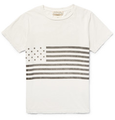 Remi Relief Flag-Print Cotton-Jersey T-Shirt