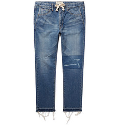 Remi Relief - Slim-Fit Distressed Denim Jeans