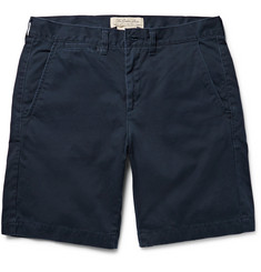 Remi Relief - Washed-Cotton Twill Shorts