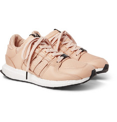 adidas Consortium - + Avenue EQT 93/16 Support Embroidered Leather Sneakers