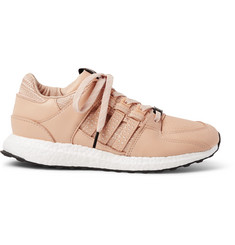 adidas Consortium + Avenue EQT 93/16 Support Embroidered Leather Sneakers