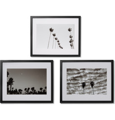 Sonic Editions Set of Three Framed West Coat Palms Triptych Prints, 16