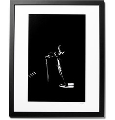 "Sonic Editions - Framed David Redfern Miles Davis On Stage Print, 16"" X 20"""