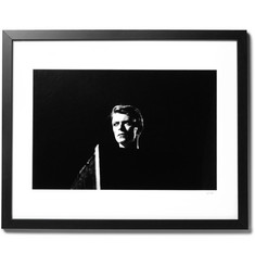 "Sonic Editions - Framed David Bowie Live At Earl's Court 1978 Print, 16"" X 20"""