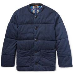 KAPITAL Quilted Denim Jacket