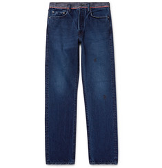 KAPITAL - Slim-Fit Washed-Denim Jeans