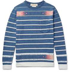 Remi Relief Cotton-Jacquard Sweater