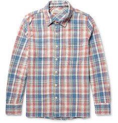 Remi Relief Checked Cotton-Twill Shirt