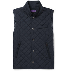 Ralph Lauren Purple Label Gerhardt Quilted Shell Gilet
