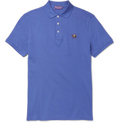 Ralph Lauren Purple Label - Mercerised Cotton-Piqué Polo Shirt