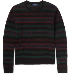 Polo Ralph Lauren Slim-Fit Fair Isle Wool and Cashmere-Blend Sweater