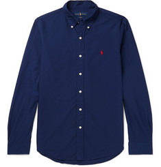 Polo Ralph Lauren Slim-Fit Button-Down Collar Cotton Shirt