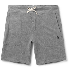 Polo Ralph Lauren Loopback Cotton-Blend Jersey Shorts