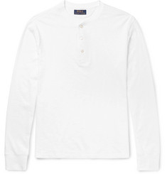 Polo Ralph Lauren Slub Cotton-Jersey Henley T-Shirt
